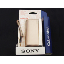 Capa Case Sony Cybershot Dsc J10 Tx10 T110d Bronze