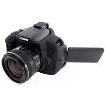 Capa De Silicone Para Canon Rebel T4i E T5i