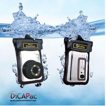 Bolsa Capa Case Prova Dagua Dicapac Cameras Compactas Wp-one