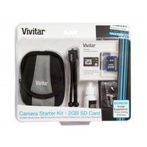 Kit Camera Digital Capa/sd 2gb/tripe/fluido P/ Sony Sansung