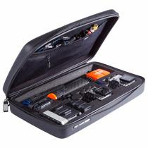 Case Gopro Sp Gadgets Elite Grande Preta Acessórios Bolsas