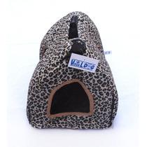 Casinha/bolsa Oncinha Para Cães/gatos Nº3 - Promoção!!!