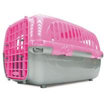 Caixa De Transporte Travel Pet Rosa Nº2, Tam P - Cães Gatos