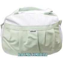 Bolsa Maternidade Bebe / Baby Bag G / Couro Sintético Verde
