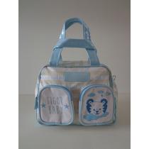 Bolsa Maternidade Tigor T Tigre Original T.p Gelo/azul