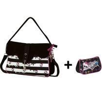 Monster High - Kit Bolsa Carteiro + Necessaire - Sestini
