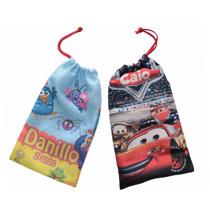 10 Saquinhos Surpresa Mochilinha Sacolinha Personalizada Bag