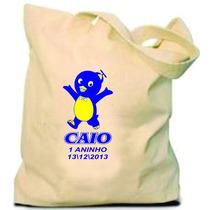 Sacola Ecológica P/personalizar Ecobag Tecido Algodão Tnt