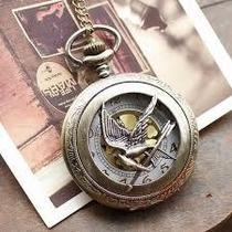 Relógio Colar Vintage Tordo Hunger Games - Pronta Entrega!