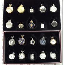Conjunto De Relógios Antigos De Bolso - Raridade!