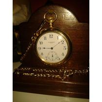 Raridade: Relógio Standard Plaquê Ouro 15 Jewels - Usa /1920