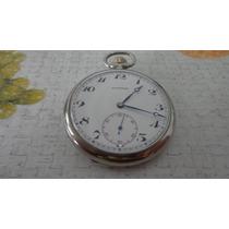 Lindo E Antigo Relógio De Bolso Suiço Marca Longines .