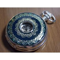 Relógio De Bolso Heritage Mecanismo Corda