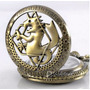 Relógio De Bolso Bronze Fullmetal Alchemist, Eduward Elric