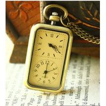 Relógio De Bolso Em Formato Retângular