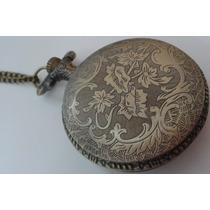 Frete Grátis - Relógio Vintage De Bolso.
