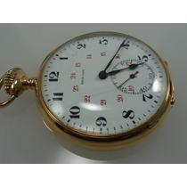 Relógio De Bolso High Life Precision Ouro18k Jr Joalheiro.