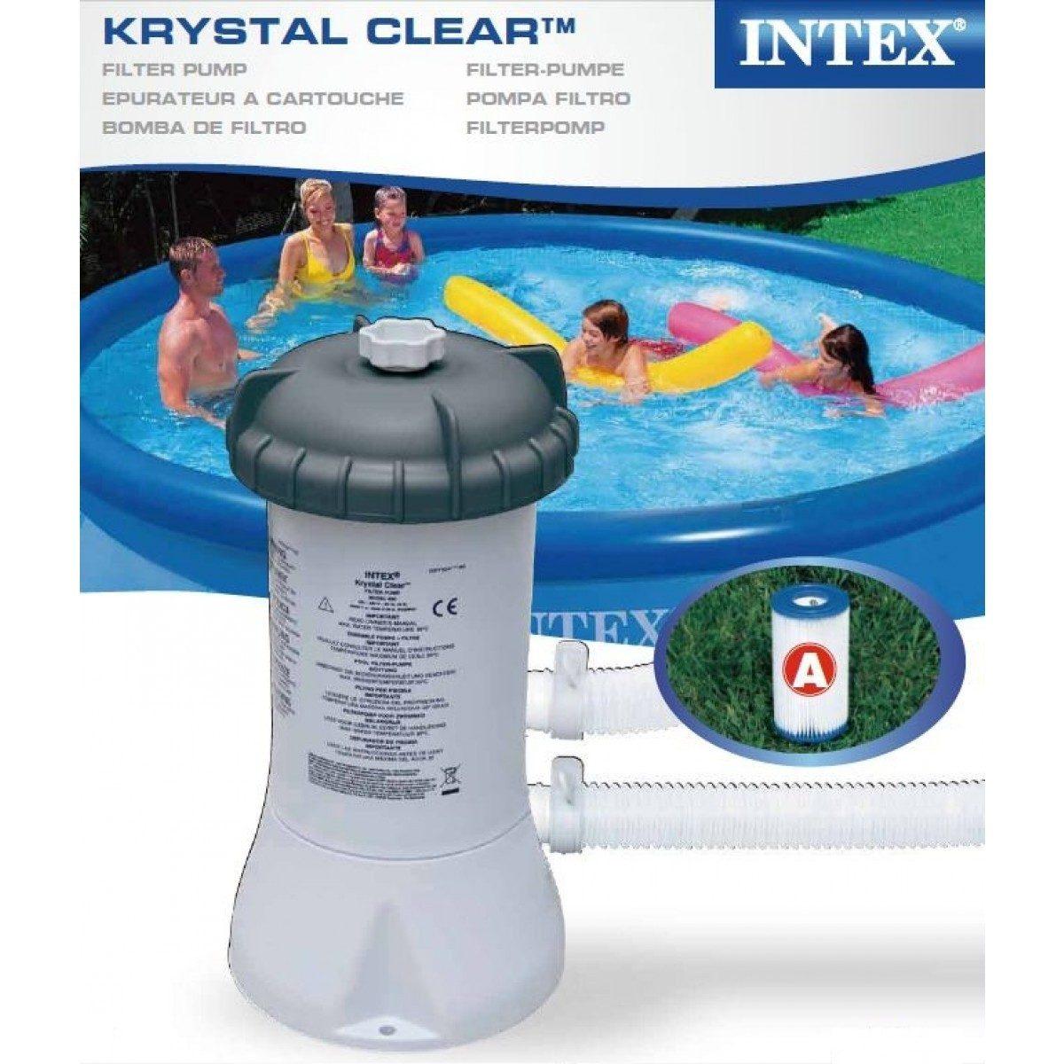 Bomba filtrante piscina intex 3785 l h 220v filtro incluso - Filtro piscina intex ...
