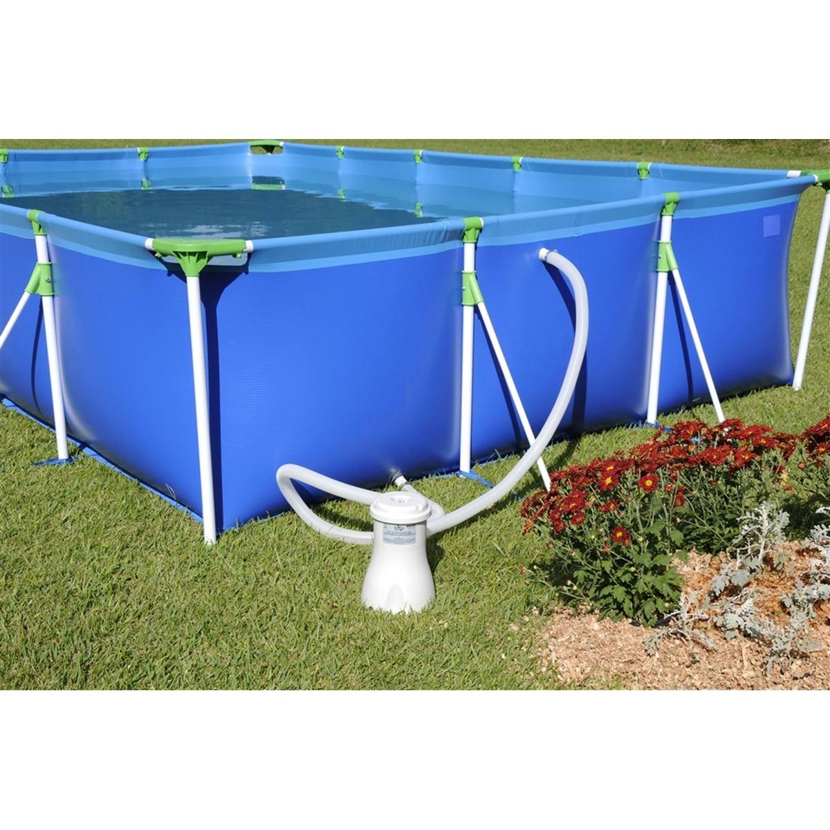 Bomba filtro para piscina 2200l h 110v mor r 131 90 for Piscina h 90