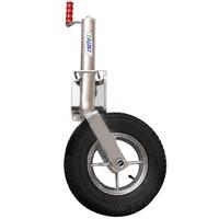 Roda C/ Pneu Para Carreta Com Pedestal Famit P2 P/entrega