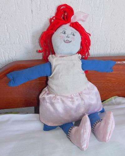 Boneca De Pano - Artesanal