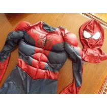 Poderosa Fantasia, Homem-aranha, Com Músculos E Máscara, Eua