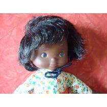 Boneca Negra Borracha Tecido Anos 70 Importada Eua Na Caixa