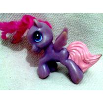 Boneca Antiga My Little Pony Roxa Hasbro Mc Donald