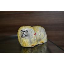 Cachorro De Vinil Antigo (6 Cm)