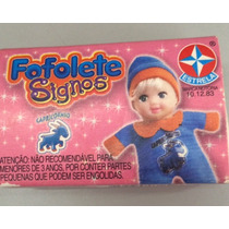 Boneca Fofolete Signos Capricórnio Da Estrela Na Caixa