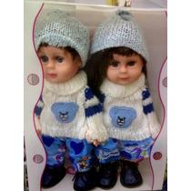 Bonecas Casal Gemeos