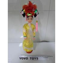 Bonecas Antigas / Gueixa - Japonesa Tamanho Da Barbie