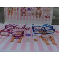 Boneca Baby Alive Miracle Adora Doll - Kit 4 Óculos Juntos