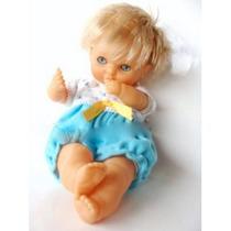 Boneca Antiga Bebê Spain Marca Famosa 70