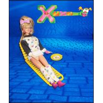 Cadeira E Pratinho Da Boneca Xuxinha Windsurf * Mimo * Xuxa