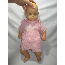 Antigo Boneco Bebezão Bebê Da Atma Anos 70
