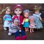 Lote De Bonecas Antigas Mini Dolls Tem Estrela
