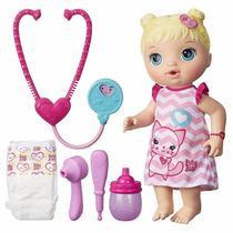 Boneca Baby Alive Cuida De Mim Loira B5158 - Hasbro