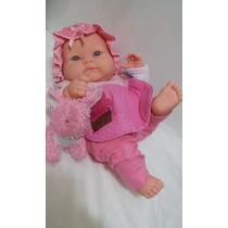 Boneca Bebê Tipo Reborn Recém Nascida