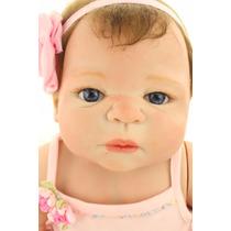 Boneca Reborn De Silicone Hot Victoria Manequins