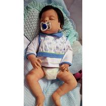 Bebê Reborn Davi Lindo ! Inteiro Em Silicone Promoção