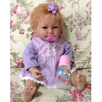 Boneca Bebê Tipo Reborn Importado Pronta Entrega