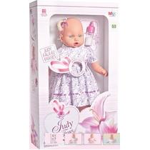 Boneca Bebe Judy 62 Frases Pronta Entrega Mamadeira Mágica.