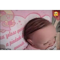 Boneca Bebê Reborn Menina Cabelos Fio A Fio Promoção Hoje