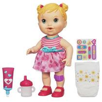 Boneca Baby Alive Machucadinho Loira Original Hasbro