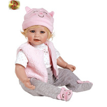 Here Kitty Adora Dolls Boneca Bebê Realista Tipo Reborn