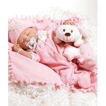 Baby Carly Boneca Bebê Realista Tipo Reborn 42cm
