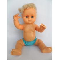 Antiga Boneca Bebê Marca Lujodira