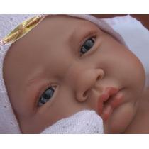 Menina Bebê Realista Tipo Reborn Enxoval Encomenda 60 Dias