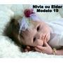 Bebê Reborn Nivia Ou Elder Boneca Que Parece Um Bebe Real